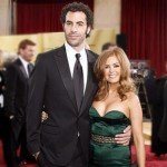 Isla Fisher And Sacha Baron Cohen. (Photo: Archive)