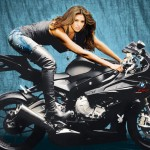 Hope Dworaczyk in 2010: BMW S1000RR. (Photo: Archive)