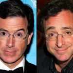 Stephen Colbert and Bob Saget. (Photo: Archive)