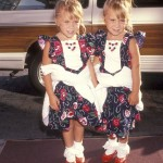 Mary-Kate and Ashley Olsen, 1991. (Photo: Archive)