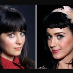 Zooey Deschanel and Katy Perry. (Photo: Archive)