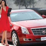 Jayde Nicole in 2008: Cadillac CTS. (Photo: Archive)