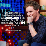 Eddie Redmayne has addressed the Taylor Swift rumors. (Photo: Instagram, @bravowwhl)