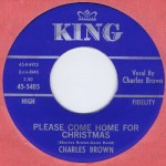 "Charles Brown - ""Please Come Home for Christmas."" (Photo: Archive)"