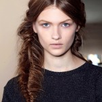 A messy fishtail braid. (Photo: Archive)