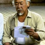 Mr Miyagi (Karate Kid series). (Photo: Archive)