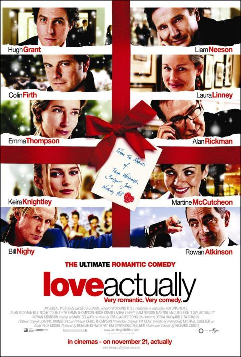 love actually photo archive - Best Christmas Movies Ever