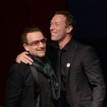 "Bono on Chris Martin: ""A completely dysfunctional character and a cretin."" (Photo: Archive)"