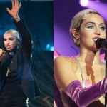 "Sinead O'Connor on Miley Cyrus: ""Please in future say no when you are asked to prostitute yourself. Your body is for you and your boyfriend. It isn't for every spunk-spewing dirtbag on the net."" (Photo: Archive)"