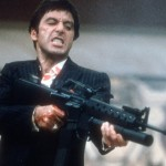 """Say hello to my little friend!"" - Scarface, 1983"