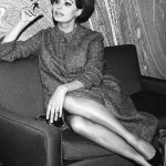 """A woman's dress should be a like a barbed- wire fence: serving its purpose without obstructing the view."" - Sophia Loren. (Photo: Archive)"