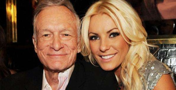 Hugh Hefner & Crystal Harris - 40 years. (Photo: Archive)