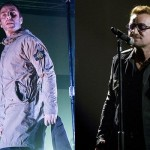 "Liam Gallagher on Bono: ""You see pictures of Bono running around LA with his little white legs and a bottle of Volvic and he looks like a fanny."" (Photo: Archive)"