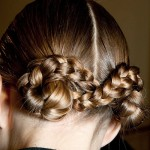Double braided chignons. (Photo: Archive)