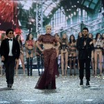 Bruno Mars, Lady Gaga, The Weeknd and Victoria's Secret Models walk the runway during the 2016 Victoria's Secret Fashion Show on November 30, 2016 in Paris, France. (Photo: Victoria's Secret)