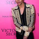 Stylist of Balmain, Olivier Rousteing attends the 2016 Victoria's Secret Fashion Show. Held at Grand Palais on November 30, 2016 in Paris, France. (Photo: Victoria's Secret)