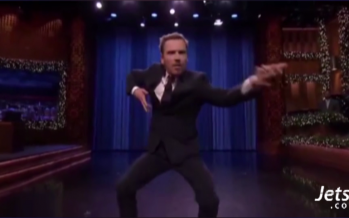 Michael Fassbender is a GOD of air guitar