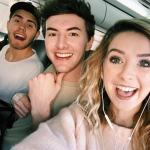 Zoe Elizabeth Sugg and Alfie Deyes have a pretty comfortable relationship. (Photo: Instagram, @zoella)