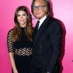 Mohamed Hadid (R) and guest attend the 2016 Victoria's Secret Fashion Show. Held at Grand Palais on November 30, 2016 in Paris, France. (Photo: Victoria's Secret)