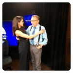 Markle with Larry King. (Photo: Instagram)