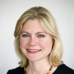 Justine Greening, first openly LGBTQ representative of the UK government. (Photo: Wikimedia)