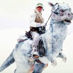 "Mark Hamill and alien snow in ""The Empire Strikes Back."" (Photo: Twitter)"
