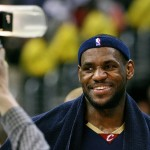 """Asked about Trump's """"locker room"""" discussion of women, James said that """"No disrespect of women happens in (the Cleveland Cavaliers) locker room."""" (Photo: Flickr/Reproduction)"""