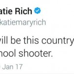 Rich's tweet, since deleted. (Photo: Twitter/Reproduction)
