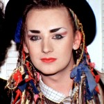 Boy George, the height of fresh fashion in 1985. (Photo: Archive)