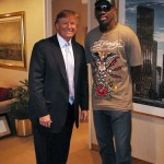 Trump with Brande's buddy Dennis Rodman. (Photo: Archive)