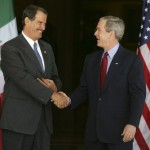 Trump's border security promises have also angered Mexican President Vicente Fox. (Photo: Archive)
