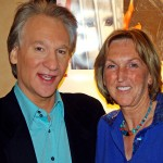 Maher (pictured here with Ingrid Newkirk) has drawn fire for daring to agree with Republicans about national security, however. (Photo: Flickr/Reproduction)