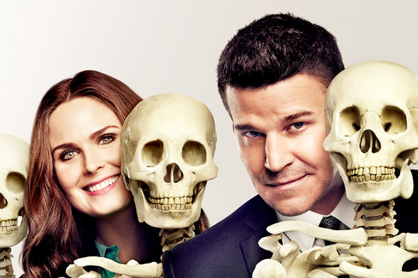 Emily Deschanel and David Boreaz (Photo: Archive)