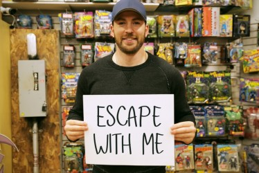 Win a Hang Out with Chris Evans by Helping Others