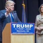 Melania and Donald Trump on the stump. (Photo: Wikimedia/Reproduction)