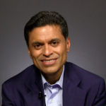 Fareed Zakaria: Fareed Zakaria was born and raised Muslim in India. After studying at Yale and Harvard he became an American citizen, and is now a beloved journalist and TV-host. (Photo: Archive)