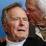 Worst: George H.W. Bush is too sick and frail for travel. (Photo: Twitter/Reproduction)