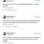 Kylie Jenner Quits Her App After Team Posts Story About Her 'Sex Life' (Photo: Twitter/Reproduction)