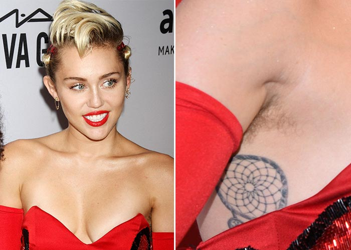 Celebrities With Hairy Armpits 83