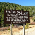 Rogers Pass, Montana was the site of the lowest ever recorded temperature in the contiguous United States - below -70 F, -56 C. (Photo: Archive)