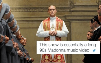 "15 Witty Audience Reactions To ""The Young Pope"""