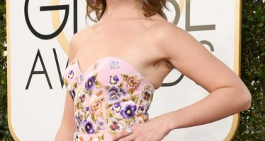 Golden Globes: 35 Female Celebs With Hairy Armpits On The Red Carpet