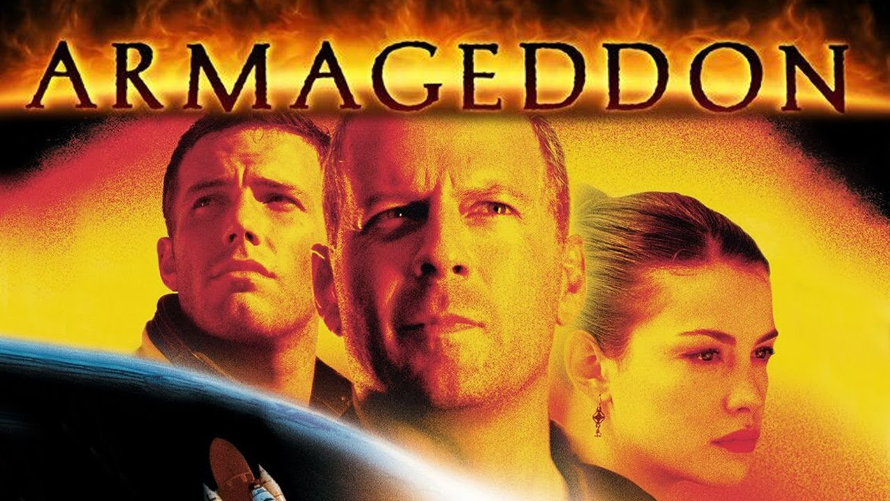 "The 1998 testosterone-fest ""Armageddon"" was called ""a 2 hour movie trailer"" by Roger Ebert. (Photo: YouTube)"