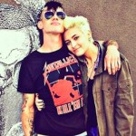 Paris Jackson and Michael Snoddy. (Photo: Twitter)