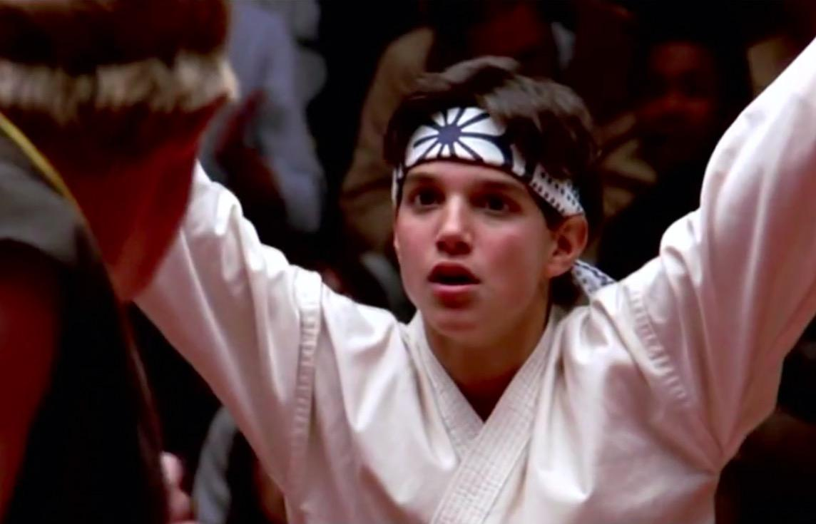 Ralph Macchio in The Karate Kid. (Photo: Archive)