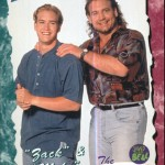 "A weird 1994 ""Saved by the Bell"" trading card featuring ""Mike,"" played by NFL legend Bob Golic. (Photo: Twitter)"