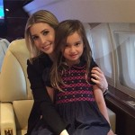 Arabella with mommy Ivanka. (Photo: Twitter)