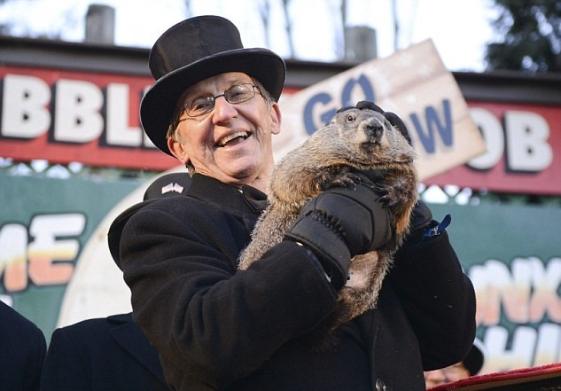Punxsutawney Phil. (Photo: Wikimedia)