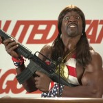 "Former pro linebacker Terry Crews as President Mountain Dew Camacho in ""Idiocracy."" (Photo: Twitter)"