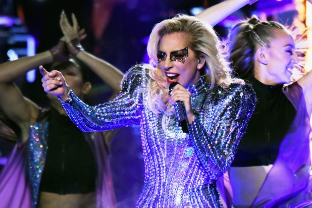 Lady Gaga, brilliant stage-fashion forged firmly in the 21st century. (Photo: Twitter)